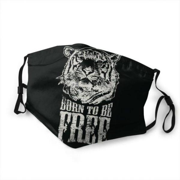 masque tigre Born To Be Free