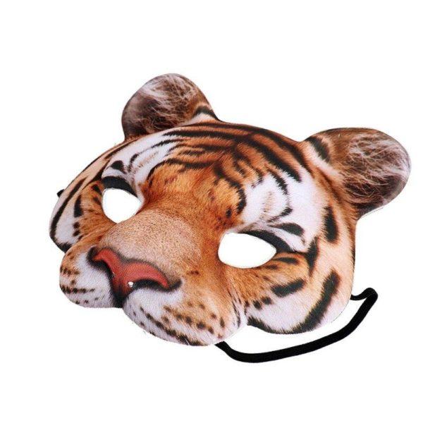 masque tigre face wildcat