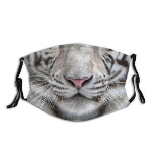 masque tigre museau blanc