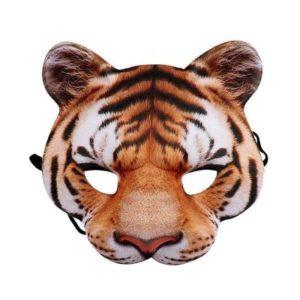 masque tigre visage fauve