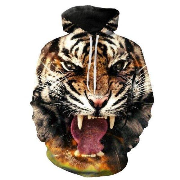 sweat tigre bestial