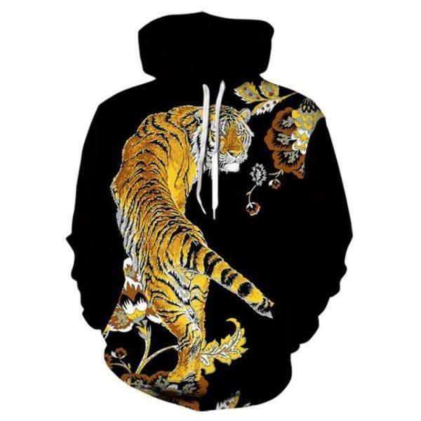 sweat tigre chinois