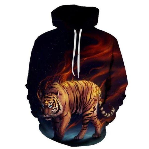 sweat tigre possédé