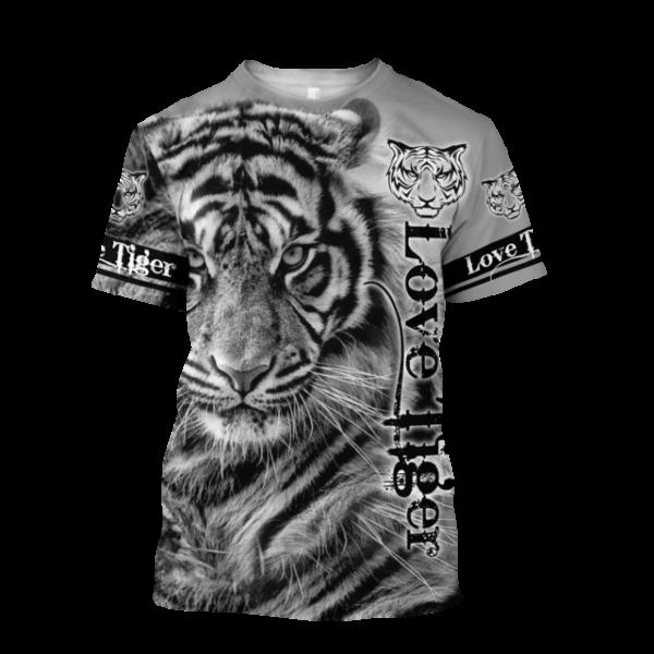 t-shirt tigre love tiger