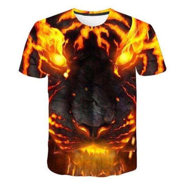 T-Shirt Tigre Magma