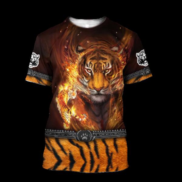 T-Shirt Tigre master fire