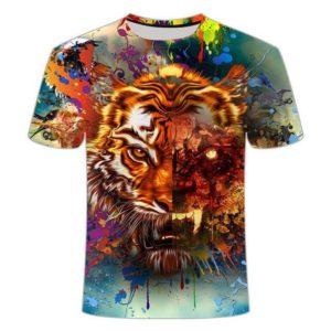 t-shirt tigre mid-dead