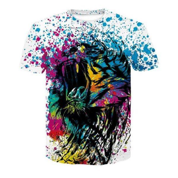 t-shirt tigre picasso