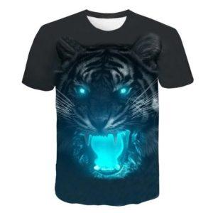 t-shirt tigre super fauve