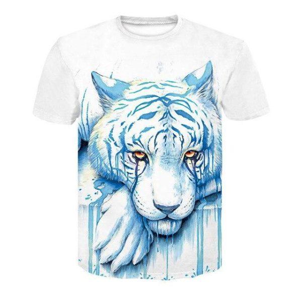 t-shirt tigre sweat
