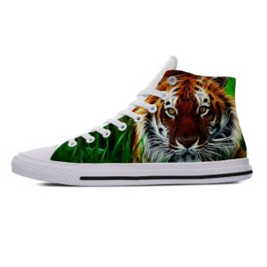 Chaussure Tigre Curieux