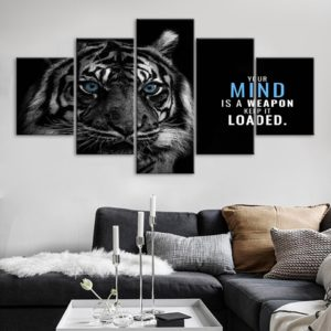 tableau tigre Mind Weapon