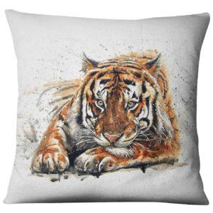 coussin tigre joueur