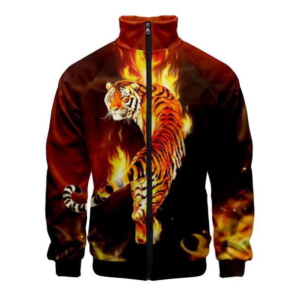 veste tigre de feu