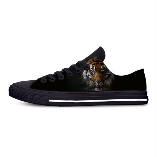 Chaussure Tigre Fauve Obscure