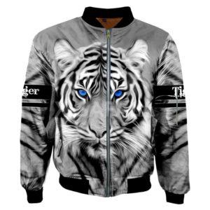 Veste Tigre Regard Profond