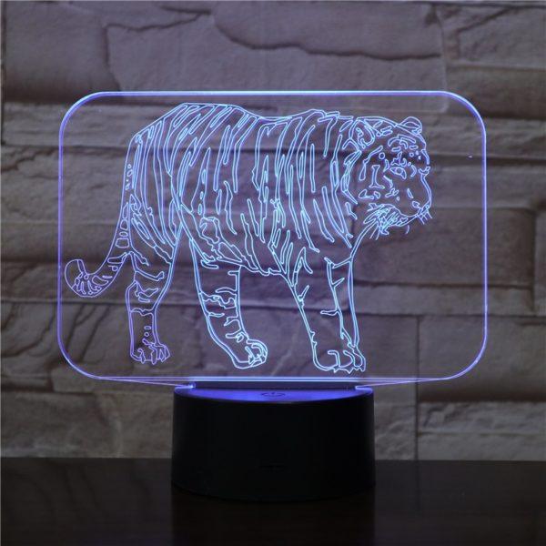 La lampe tigre Gros Fauve