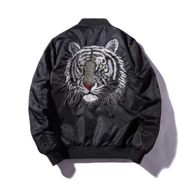 Veste Tigre Blanc dos