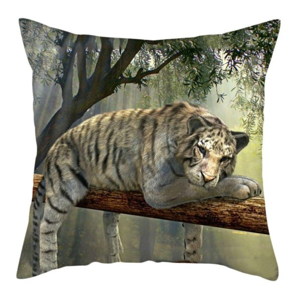 coussin tigre Perché
