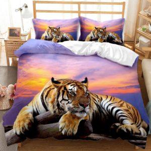 housse de couette tigre Paisible