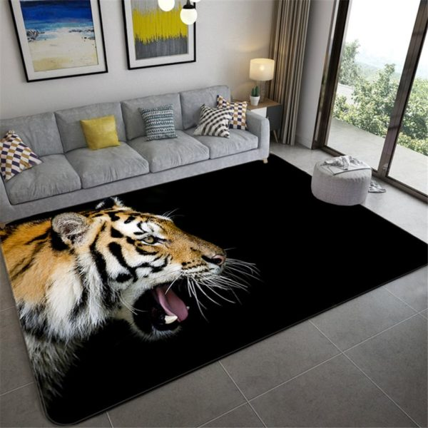 Tapis Tigres Dans l'Ombre