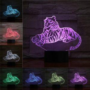 lampe tigre Reposé