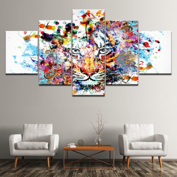 tableau tigre Artistique