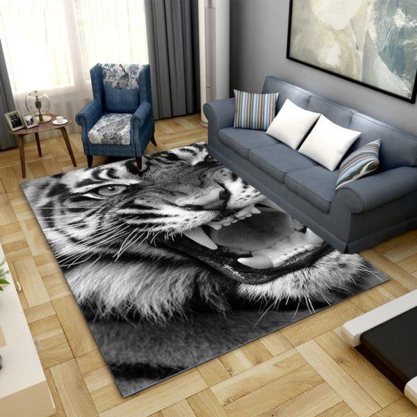 Tapis Tigres Puissant Rugissement