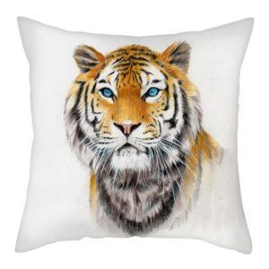 cousin tigre peinture yeux bleu