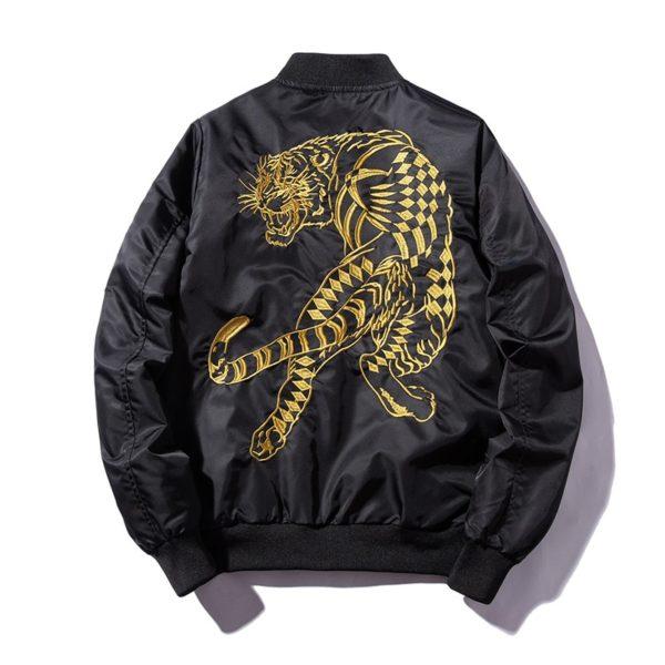 Veste Tigre Doré