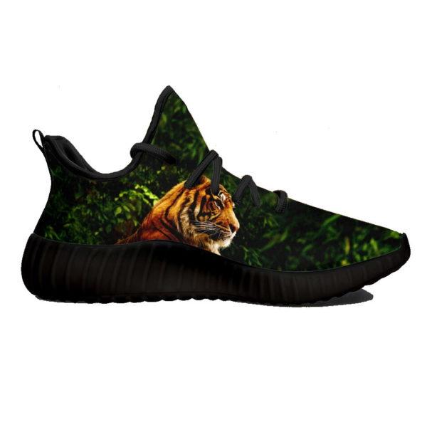 Chaussure Tigre Jungle Sauvage noir