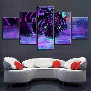 tableau tigre D'un Autre Monde