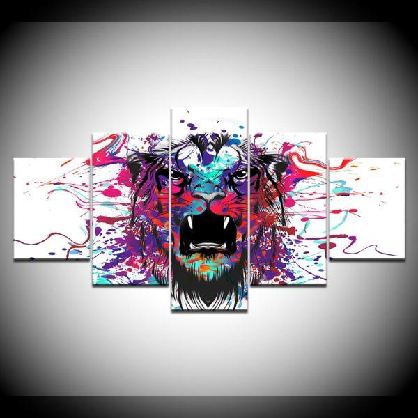 tableau tigre artiste