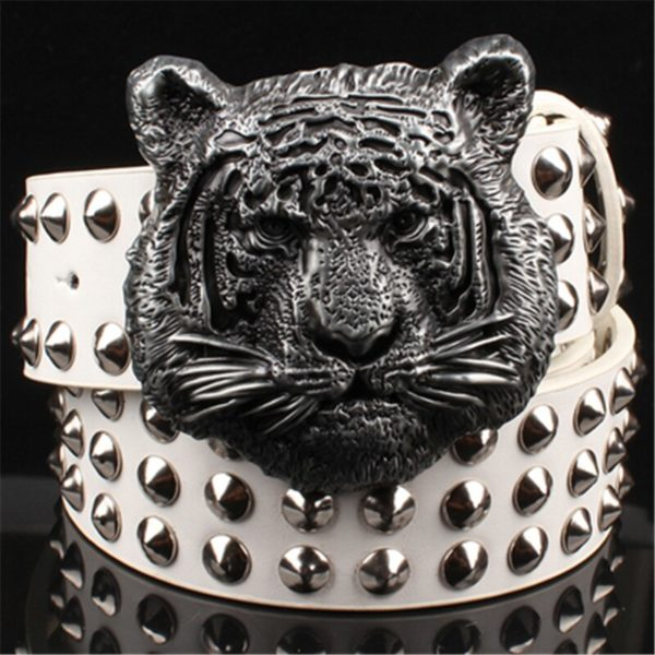Ceinture Tigre Biker Sauvage