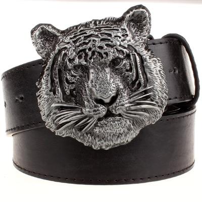 Ceinture Tigre Face Fauve