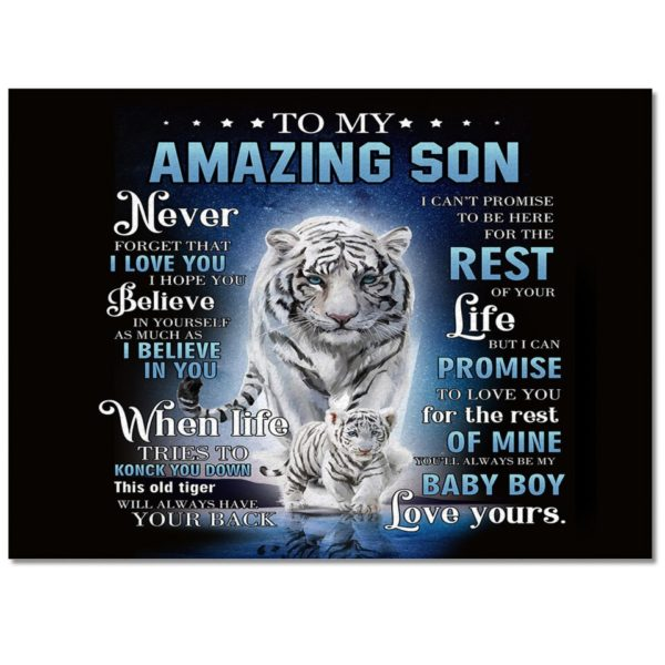 Tapis Tigres Amazing Son