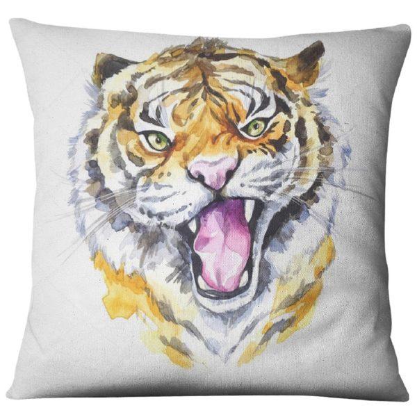coussin tigre Comique