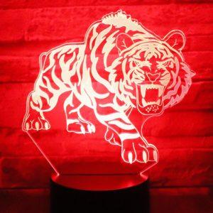 lampe tigre Bestial Fauve
