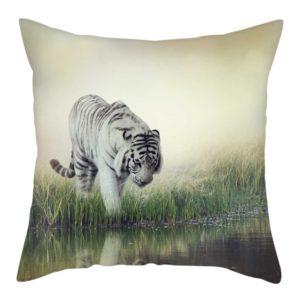 coussin tigre Rivière