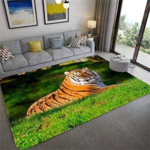 Tapis Tigres De La Caspienne