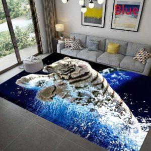 tapis tigre blanc mer