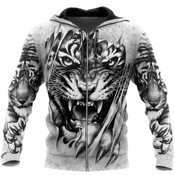 Veste Tigre Déchiqueteur