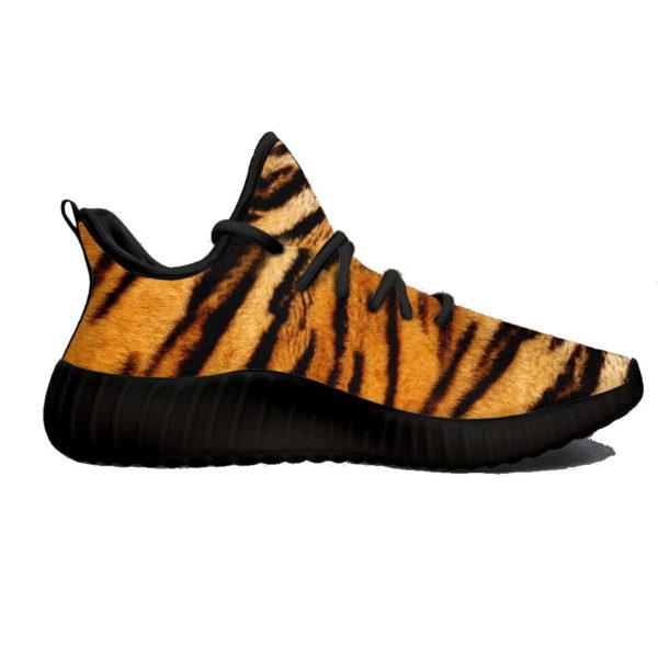 Chaussure Tigre Fourrure haute