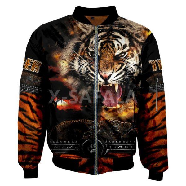 Veste Tigre Féroce Meute
