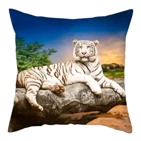 coussin tigre Savane