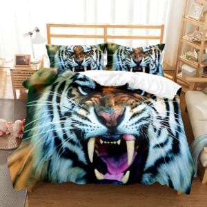 housse de couette tigre Bestial Rugissement
