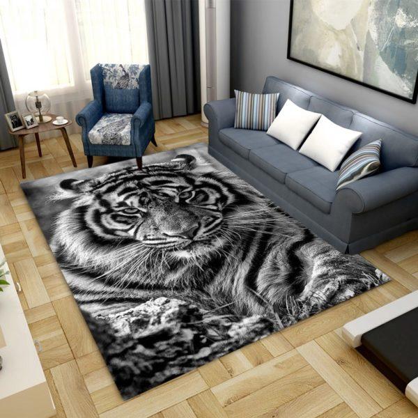 Tapis Tigres Fauve Furieux