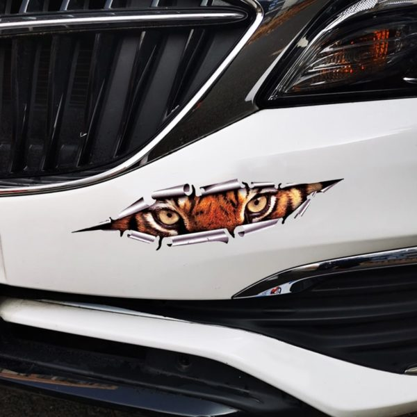 stickers tigre Bestial Regard