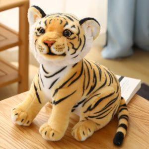 Peluche Tigre Bébé Fauve