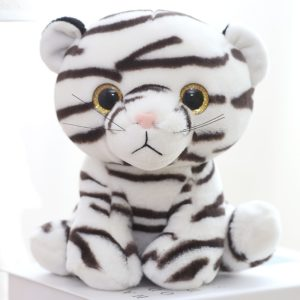 Peluche Tigre Blanc Mignon